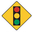 Signal Ahead - means traffic signal ahead